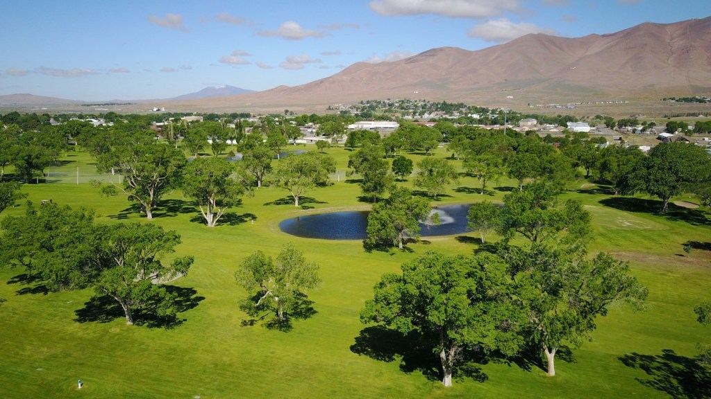 Aerial view of Winnemucca Golf Course